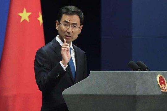 В МИД Китая сочли реакцию Запада на протесты в Москве вмешательством во внутренние дела РФ
