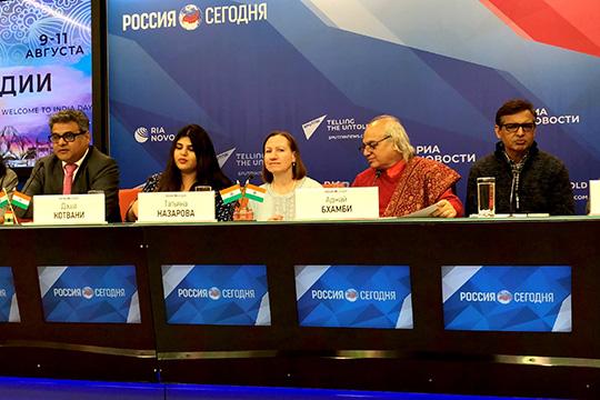 С.Котвани: Фестиваль укрепляет российско-индийское сотрудничество