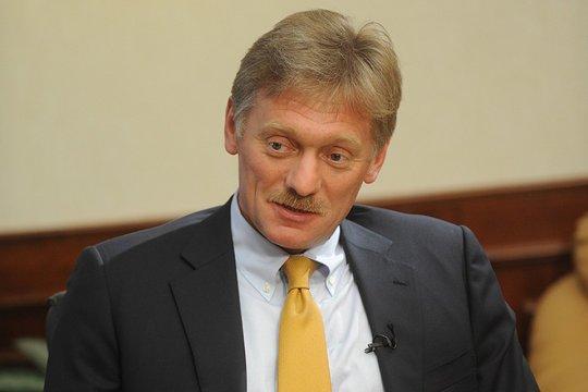 В Кремле дали позитивную оценку переговорам Путина и Макрона