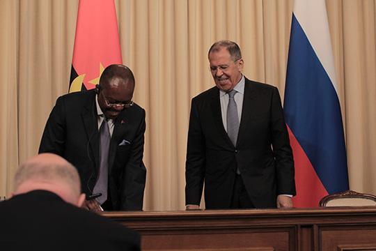 Ангола рассчитывает на инвестиции России и БРИКС