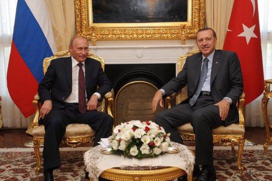Путин и Эрдоган встретятся  в Жуковском