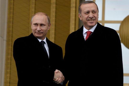 Путин и Эрдоган обсудили урегулирование в Идлибе