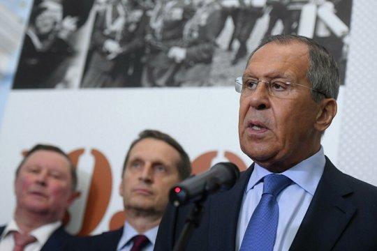 Сергей Лавров: «В 1939 году западные державы вели двойную игру, которая закончилась катастрофой»