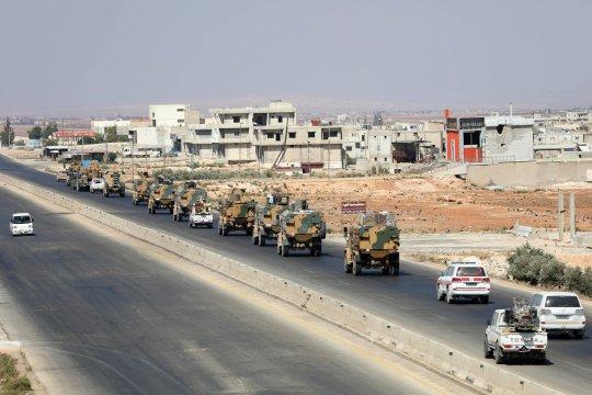 Турция осудила обстрел своего армейского конвоя в Идлибе