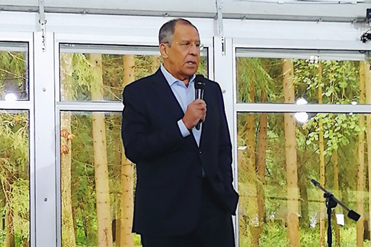 Сергей Лавров: «России не грозит одиночество, мы всегда будем иметь единомышленников»