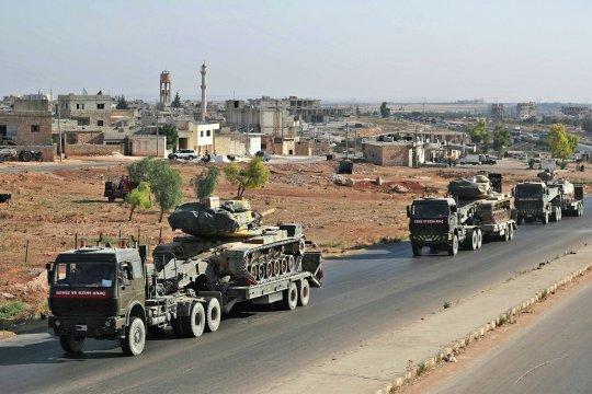 Подразделения турецкой армии вошли в сирийский город Серакиб