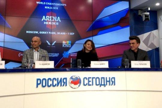 Лучшие мировые атлеты приехали в Россию на первый в истории Чемпионат мира по забегам с препятствиями формата «Ниндзя OCR»