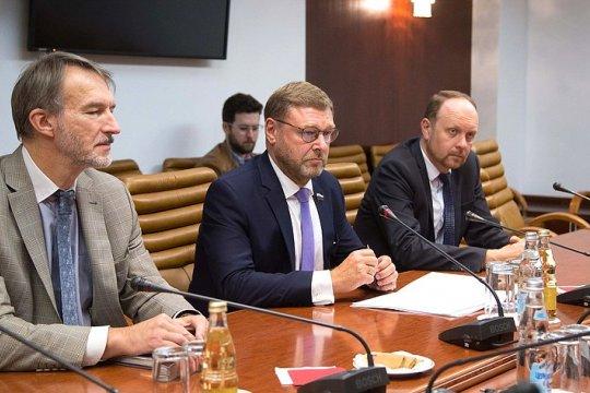 Косачев: Россия и Германия находят взаимоприемлемые решения