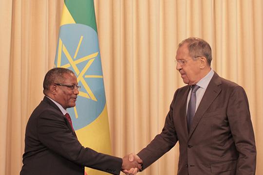 Основную часть работы с беженцами Эфиопия ведет своими силами