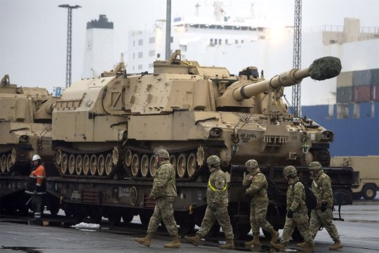Логистический центр НАТО в Германии готовится к войне с Россией
