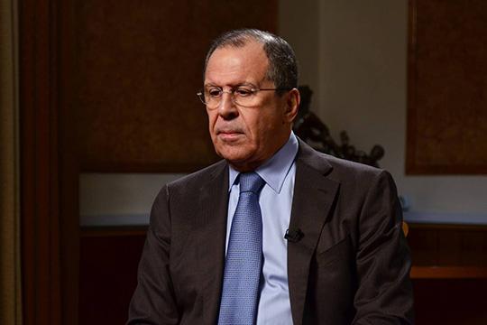 Интервью главы МИД России Сергея Лаврова газете «Труд»