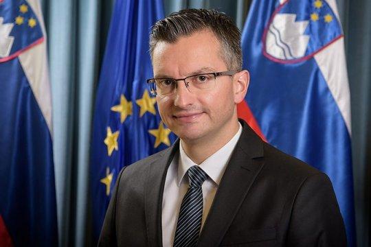 Трансляция прибытия в Москву Председателя Правительства Республики Словения М.Шареца