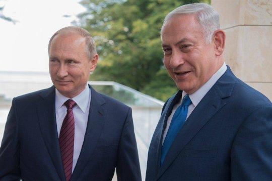 Названа дата встречи Нетаньяху с Путиным