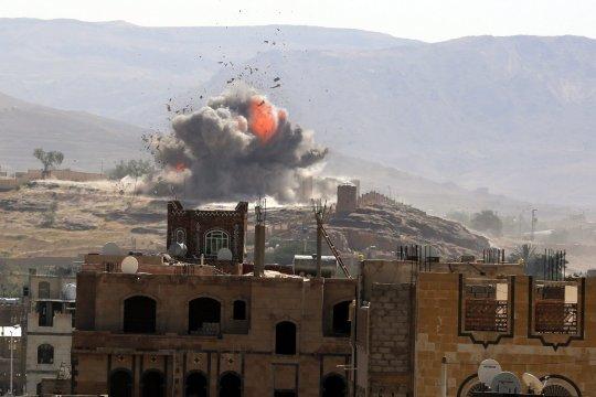 Арабская коалиция нанесла удары по объектам в Йемене