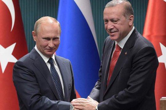 Путин рассказал об итогах двухчасовых переговоров с президентом Турции