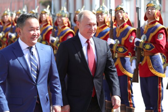 Россия и Монголия заключили договор о дружественных отношениях