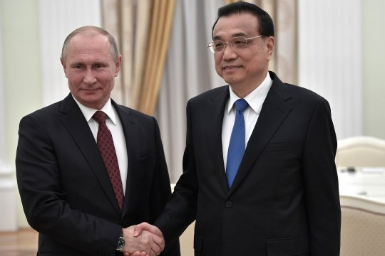 Встреча с Премьером Госсовета КНР Ли Кэцяном