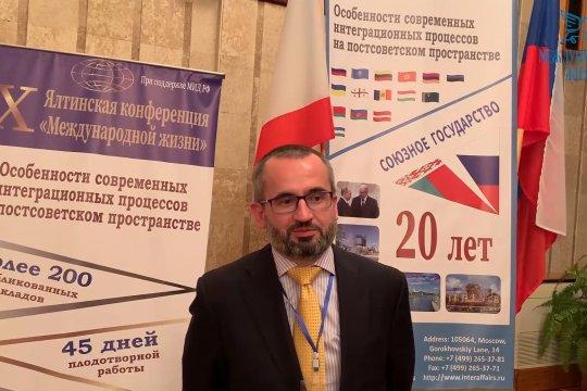 Олег Степанов: рано или поздно в ЕС поймут выгоды перспективности Большого Евразийского контура