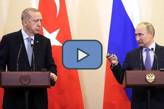 Заявления президентов Владимира Путина и Реджепа Тайипа Эрдогана по итогам российско-турецких переговоров