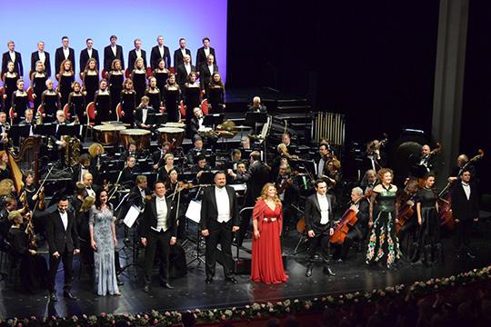 «Незабываемый вечер»: в Дюссельдорфе состоялся гала-концерт «Геликон-оперы»