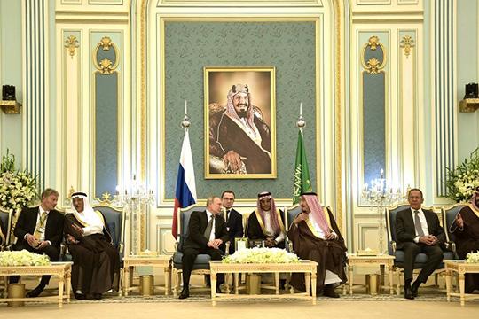 Аравийский поход России под флагом мира