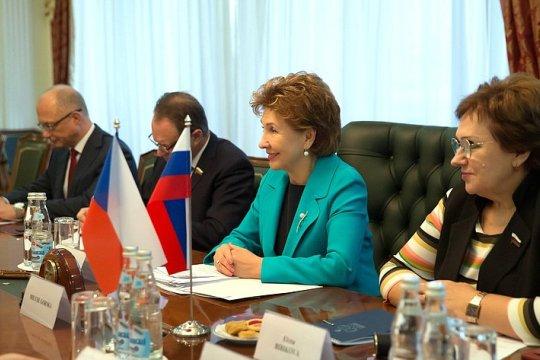 Г. Карелова: Российско-чешские межпарламентские связи активно развиваются