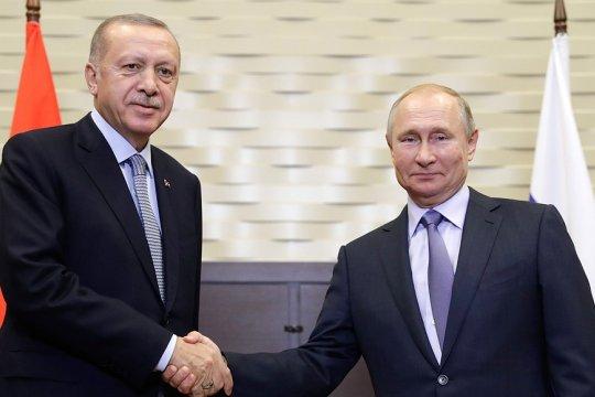 Российско-турецкие переговоры на высшем уровне начались в Сочи