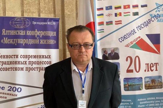 Юрий Шевцов: логично, чтобы Союзное государство как институт обратило внимание на отношения с Китаем
