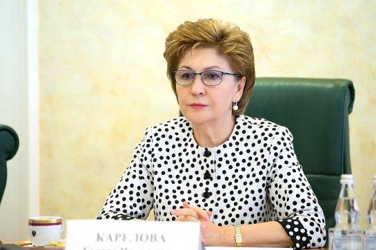 Г. Карелова: Тема сотрудничества с соотечественницами получит дальнейшее развитие