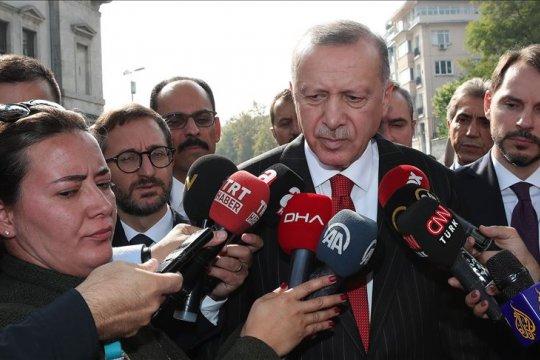 Эрдоган назвал ложью информацию о нарушении перемирия на севере Сирии