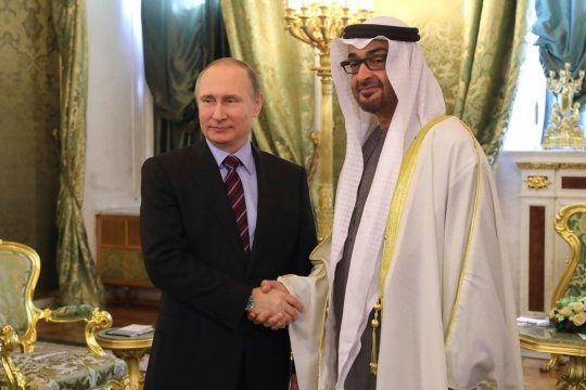 Путин прибыл с государственным визитом в ОАЭ