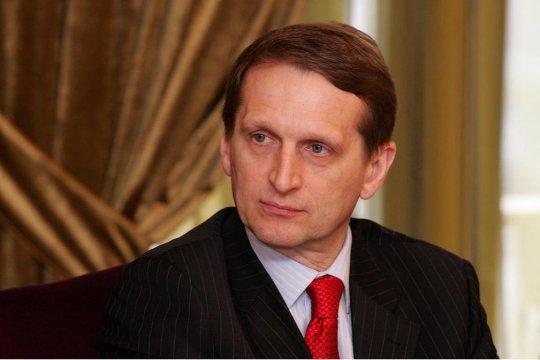 Нарышкин прокомментировал помилование россиян властями Литвы