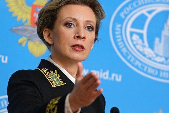 Захарова: предложение НАТО вернуть Крым Украине -это просто сотрясание воздуха
