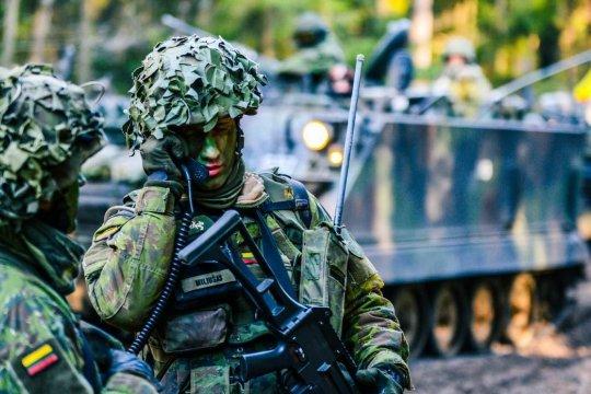 Власти Литвы намерены на четверть увеличить численность армии