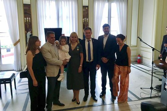 Орден дружбы для России и Аргентины