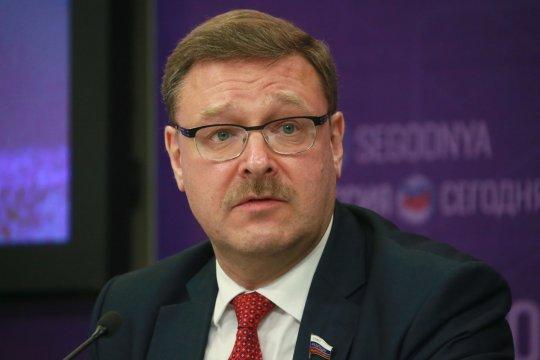 Константин Косачев: Важно заложить молодым дипломатам общемировые ценности