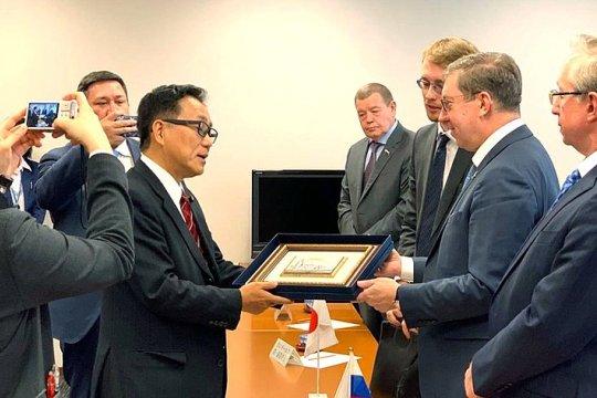 Российские и японские сенаторы обсудили вопросы законодательства в сфере рыболовства и лесопользования