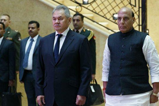 Глава Минобороны Индии заявил о намерении расширить военное сотрудничество с Россией