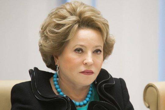Председатель СФ, Председатель Совета МПА СНГ В. Матвиенко провела встречу с Председателем Парламента Молдовы З. Гречаный