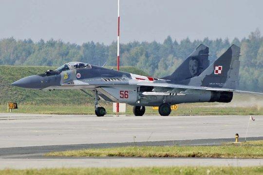 Самолеты МиГ-29 будут вновь использоваться польской армией