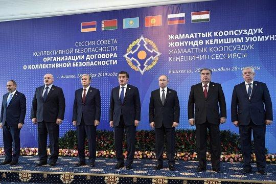 Путин пригласил лидеров стран-участниц ОДКБ на торжества по случаю 75-летия Победы в Москву
