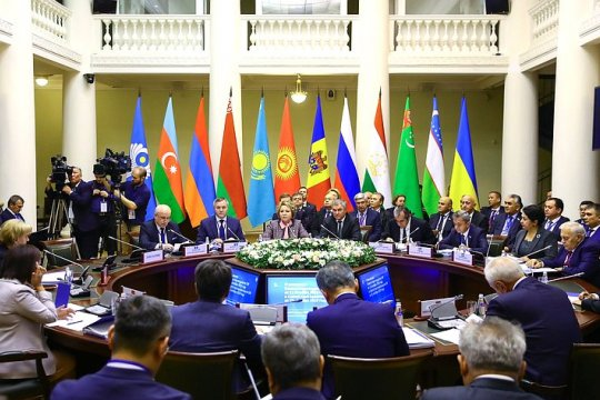 В. Матвиенко провела заседание Совета МПА СНГ
