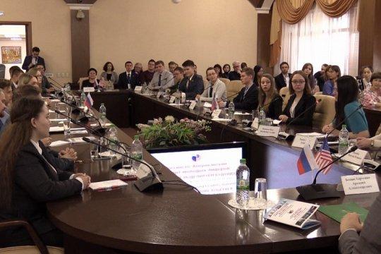 Молодёжь России и США вместе моделирует будущее