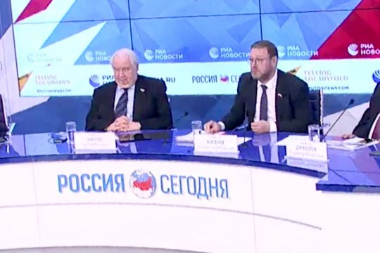 Константин Косачев: Будем добиваться принятия специальной резолюции о недопустимости односторонних экономических санкций
