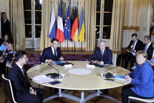 В Париже началась встреча в «нормандском формате»