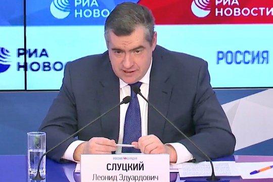 Леонид Слуцкий: Недалек тот год, когда на постсоветском пространстве установятся конструктивные отношения между всеми государствами