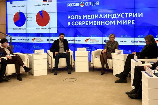 Роль российских СМИ усиливается на международной арене