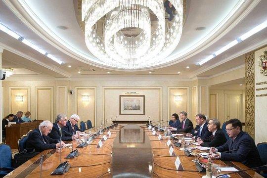К. Косачев: В Совете Федерации готовы к восстановлению отношений с парламентом Великобритании