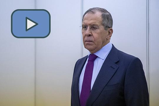 Сергей Лавров ответил на вопросы журналистов по итогам 26-го заседания Совета министров иностранных дел ОБСЕ