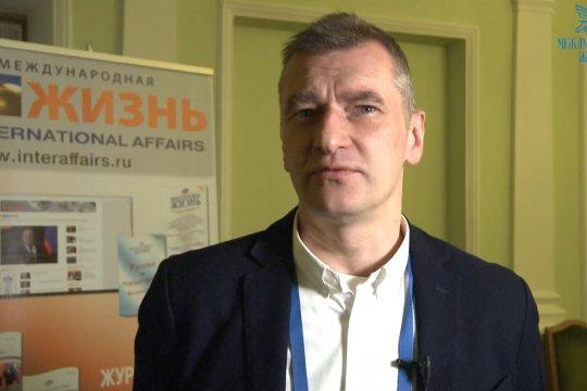 Максим Поляков, профессор МГИМО